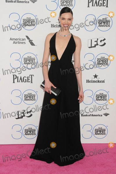Alizee Gaillard Photo - 21 February 2015 - Santa Monica California - Alizee Gaillard 2015 Film Independent Spirit Awards - Arrivals held at Santa Monica Beach Photo Credit Byron PurvisAdMedia