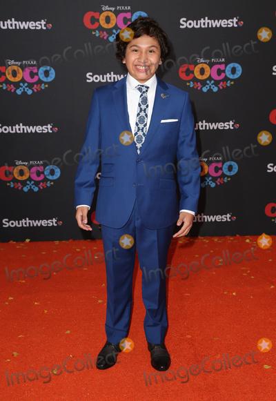 Anthony Gonzalez Photo - 08 November 2017 - Hollywood California - Anthony Gonzalez Disney Pixars Coco Los Angeles Premiere held at El Capitan Theater Photo Credit F SadouAdMedia
