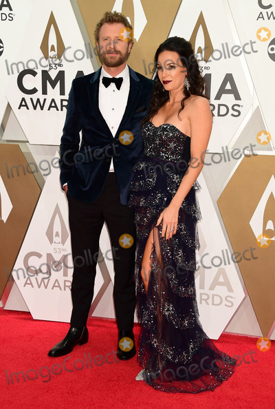 CMA Award Photo - 13 November 2019 - Nashville Tennessee - Dierks Bentley Cassidy Black 53rd Annual CMA Awards Country Musics Biggest Night held at Music City Center Photo Credit Laura FarrAdMedia