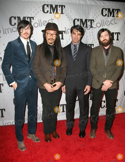 Avett Brothers Photo - 29 November 2011 - Nashville Tennessee - The Avett Brothers 2011 CMT Artists of the Year held at Bridgestone Arena Photo Credit Bev MoserAdMedia