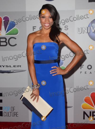 Allyson Felix Photo - 12 January 2014 - Los Angeles California - Echo Kellum Arrivals for the NBC Universal Golden Globe After-Party at the Beverly Hilton Hotel in Los Angeles Ca Photo Credit Birdie ThompsonAdMedia