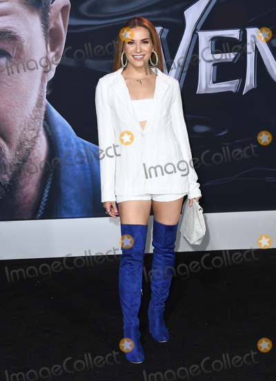 Allison Holker Photo - 01 October 2018 - Westwood California - Allison Holker  Venom Los Angeles Premiere held at Regency Village Theater Photo Credit Birdie ThompsonAdMedia
