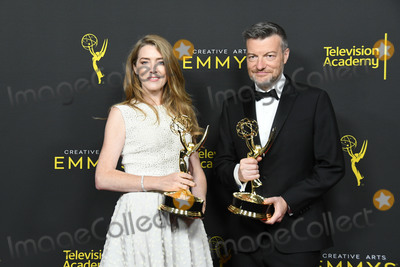 Annabel Jones Photo - 15 September 2019 - Los Angeles California - Annabel Jones Charlie Brooker 2019 Creative Arts Emmys Awards -- Press Room held at Microsoft Theater LA Live Photo Credit Birdie ThompsonAdMedia