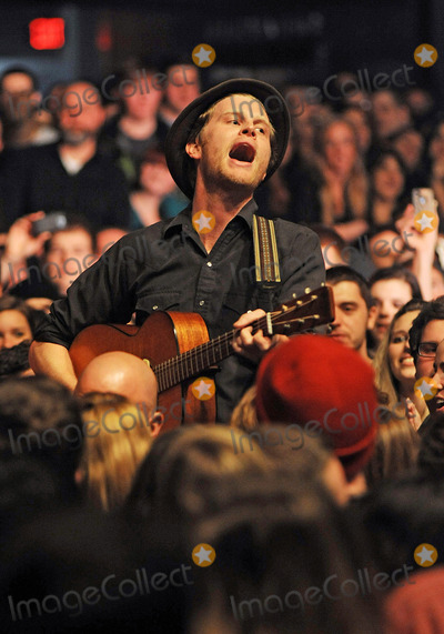 The Lumineers Photo - 05 February 2013 - Pittsburgh PA - Vocalistguitarist WESLEY SHULTZ for the American folk rock band THE LUMINEERS performs to a Sold Out concert at a stop on their US tour held at the Stage AE  Photo Credit Jason L NelsonAdMedia