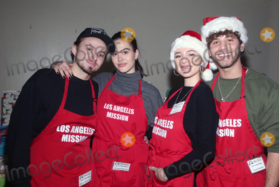 Eyal Booker Photo - 23 December 2019 - Los Angeles California - Mercer Wiederhorn Amelia Gray Hamlin Eyal Booker Delilah Belle Hamlin Christmas Celebration On Skid Row  held at Los Angeles Mission Photo Credit FSAdMedia