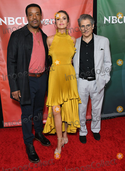 ARIELE KEBBEL Photo - 11 January 2020 - Pasadena California - Russell Hornsby Arielle Kebbel Michael Imperioli NBCUniversal Winter Press Tour 2020 held at Langham Huntington Hotel Photo Credit Birdie ThompsonAdMedia