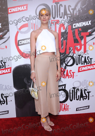 Julia Crockett Photo - 01 June 2016 - Los Angeles California - Julia Crockett Arrivals for the Los Angeles premiere for Cinemaxs Outcast held at CINESPIA At Hollywood Forever Cemetery Photo Credit Birdie ThompsonAdMedia