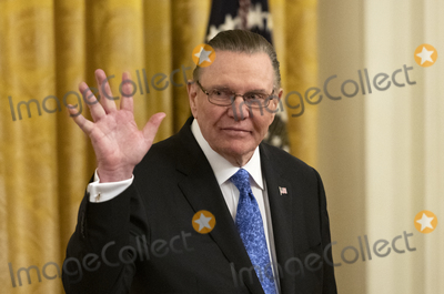 Keane Photo - United States Army General John M Jack Keane (retired) waves prior to US President Donald J Trump presenting him with the Presidential Medal of Freedom during a ceremony in the East Room of the White House in Washington DC on Tuesday March 10 2020  Keane is a former Vice Chief of Staff of the US Army and is a Fox News national security analystCredit Ron Sachs  CNPAdMedia
