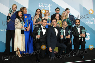 Alex Borstein Photo - 19 January 2020 - Los Angeles California - Caroline Aaron Jane Lynch Stephanie Hsu Marin Hinkle Rachel Brosnahan Alex Borstein and Matilda Szydagis Kevin Pollak Tony Shalhoub Michael Zegen Luke Kirby The Marvelous Mrs Maisel Cast 26th Annual Screen Actors Guild Awards held at The Shrine Auditorium Photo Credit AdMedia