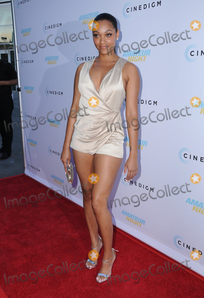 Bria Murphy Photo - 25 July 2016 - Hollywood California Bria Murphy The Los Angeles premiere of Amateur Night held at the ArcLight Hollywood Photo Credit Birdie ThompsonAdMedia