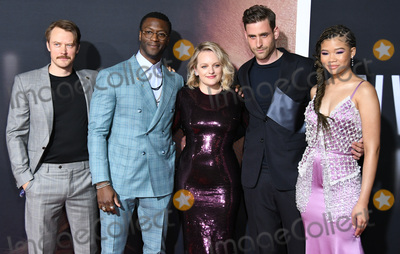 Aldis Hodge Photo - 24 February 2020 - Hollywood California - Michael Dorman Aldis Hodge Elizabeth Moss Oliver Jackson-Cohen Storm Reid The Invisible Man Los Angeles Premiere held at the TCL Chinese Theatre Photo Credit Birdie ThompsonAdMedia