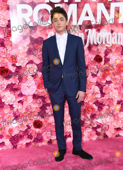 Asher Angel Photo - 11 February 2019 - Los Angeles California - Asher Angel Isnt It Romantic Los Angeles Premiere held at the Theater at Ace Hotel Photo Credit Birdie ThompsonAdMedia
