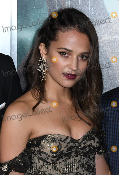 Alicia Vikander Photo - 12 March 2018 - Hollywood California - Alicia Vikander Tomb Raider Los Angeles Premiere held at TCL Chinese Theatre Photo Credit Birdie ThompsonAdMedia