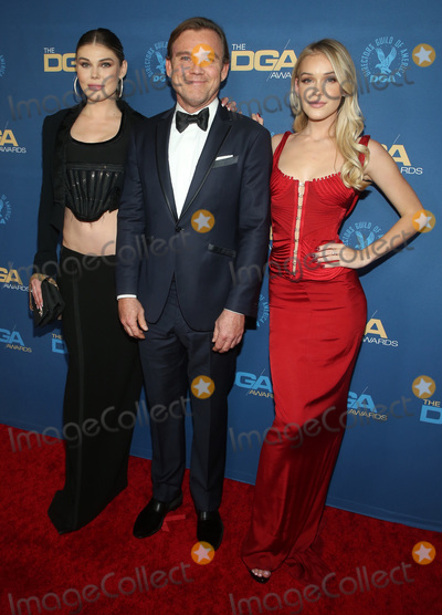 Cambrie Schroder Photo - 25 January 2020 - Los Angeles California - Cambrie Schroder Ricky Schroder and Faith Anne Schroder 72nd Annual Directors Guild Of America Awards (DGA Awards 2020) held at the The Ritz Carlton Photo Credit F SadouAdMedia