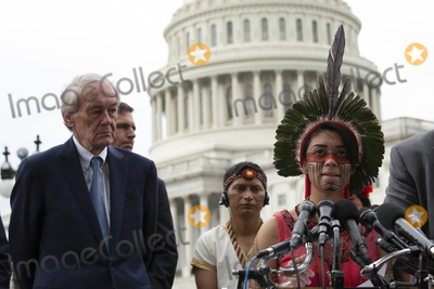 Artemisa Barbosa Photo - Youth climate activist Artemisa Barbosa speaks about climate change during a press conference on Capitol Hill in Washington DC US on September 17 2019Credit Stefani Reynolds  CNPAdMedia