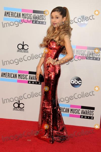 Ariana Grande Photo - 24 November 2013 - Los Angeles California - Ariana Grande 2013 American Music Awards - Arrivals held at Nokia Theatre LA Live Photo Credit Byron PurvisAdMedia