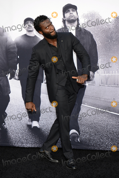 Aldis Hodge Photo - 10 August 2015 - Los Angeles California - Aldis Hodge Premiere Of Universal Pictures And Legendary Pictures Straight Outta Compton held at Microsoft Theater Photo Credit Tonya WiseAdMedia
