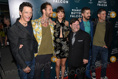 Dakota Johnson Photo - 01 August 2019 - Hollywood California - John Hawkes Tyler Nilson Dakota Johnson Zack Gottsagen Shia LaBeouf Mike Schwartz The Peanut Butter Falcon Los Angeles Premiere held at Arclight Hollywood Photo Credit Billy BennightAdMedia