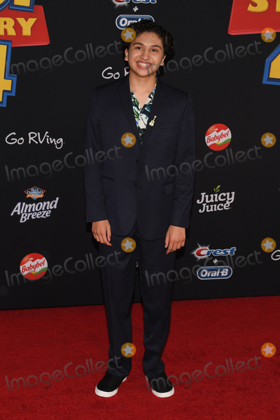 Anthony Gonzalez Photo - 12 June 2019 - Hollywood California - Anthony Gonzalez Toy Story 4 Disney and Pixar Los Angeles Premiere held at El Capitan Theatre Photo Credit Billy BennightAdMedia