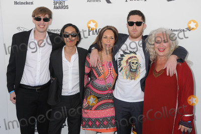 Robyn Photo - 27 February 2016 - Santa Monica California - Wilson Smith Justin R Chan Robyn Fairchild Trey Edward Shults Krisha Fairchild 31st Annual Film Independent Spirit Awards - Arrivals held at the Santa Monica Pier Photo Credit Byron PurvisAdMedia