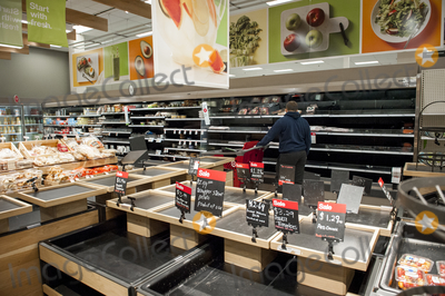 The Producers Photo - The produce section is bare during these days of the COVID-19 pandemic at the Target store in Alexandria Va Monday March16 2020 Credit Rod Lamkey  CNPAdMedia