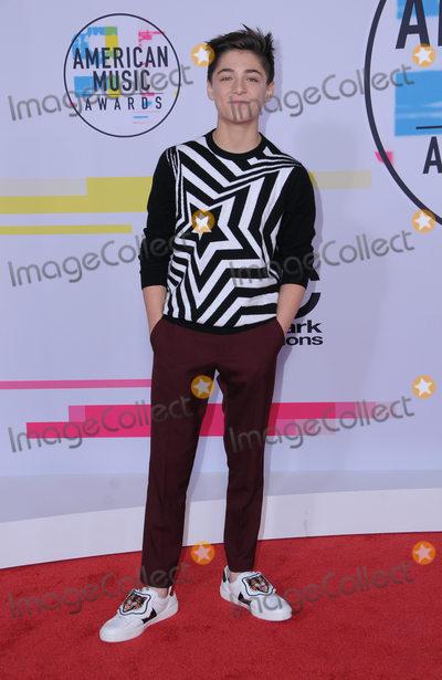 Asher Angel Photo - 19 November  2017 - Los Angeles California - Asher Angel 2017 American Music Awards  held at Microsoft Theater in Los Angeles Photo Credit Birdie ThompsonAdMedia