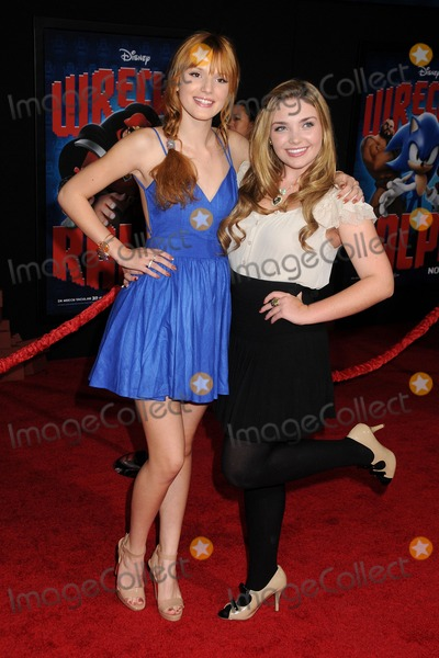 Kailey Swanson Photo - 29 October 2012 - Hollywood California - Bella Thorne Kailey Swanson Wreck-It Ralph Los Angeles Premiere held at the El Capitan Theatre Photo Credit Byron PurvisAdMedia