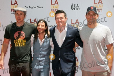 Andrew Panay Photo - 14 June 2014 - Los Angeles California - Dax Shepard Andrew Panay Tucker Tooley Bradley Cooper LA Film Fest 2014 - Earth To Echo World Premiere held at Regal Cinemas LA Live Photo Credit Byron PurvisAdMedia