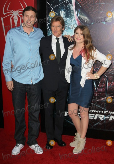 Denis Leary Photo - 28 June 2012 - Westwood California - Jack Leary Denis Leary Ann Lembeck Columbia Pictures Los Angeles Premiere Of The Amazing Spider-Man Held The at Regency Village Theatre Photo Credit Faye SadouAdMedia
