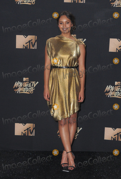 Alisha Boe Photo - 07 May 2017 - Los Angeles California - Alisha Boe 2017 MTV Movie Awards - Press Room held at Shrine Auditorium in Los Angeles Photo Credit Birdie ThompsonAdMedia