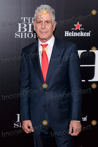 Anthony Bourdain Photo - 08 June  2018 -  Anthony Bourdain the TV celebrity and food writer who hosted CNNs  Parts Unknown was found dead in his hotel room File Photo November 23 2015 - New York NY -  The Big Short New York Premiere Photo Credit Mario SantoroAdMedia