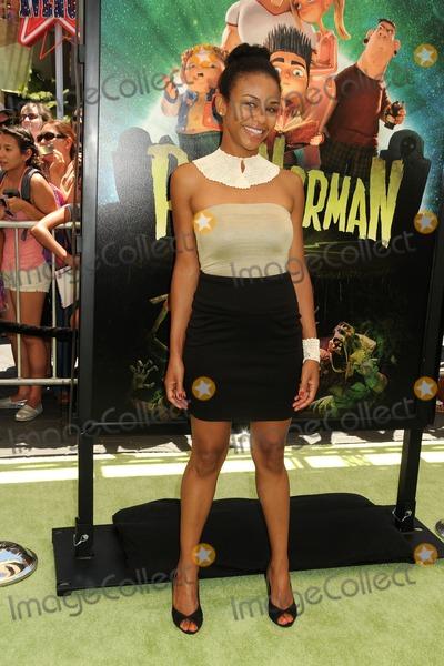 Aasha Davis Photo - 5 August 2012 - Universal City California - Aasha Davis ParaNorman Los Angeles Premiere held at AMC CityWalk Stadium 19 Theatre Photo Credit Byron PurvisAdMedia