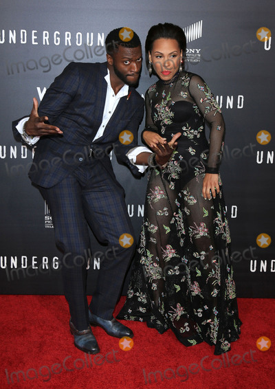 Aldis Hodges Photo - 02 March 2016 - Los Angeles California - Aldis Hodge Amirah Vann Underground Los Angeles Premiere held at The Theatre At The Ace Hotel Photo Credit Winston BurrisAdMedia