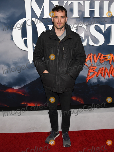 Aaron Geary Photo - 29 January 2020 - Hollywood California - Aaron Geary Premiere of Apple TVs Mythic Quest Ravens Banquet at The Cinerama Dome Photo Credit Billy BennightAdMedia