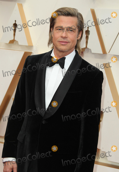 Brad Pitt Photo - 09 February 2020 - Hollywood California - Brad Pitt 92nd Annual Academy Awards presented by the Academy of Motion Picture Arts and Sciences held at Hollywood  Highland Center Photo Credit AdMedia