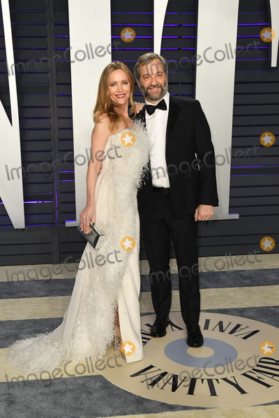 Judd Apatow Photo - 24 February 2019 - Los Angeles California - Judd Apatow Leslie Mann 2019 Vanity Fair Oscar Party following the 91st Academy Awards held at the Wallis Annenberg Center for the Performing Arts Photo Credit Birdie ThompsonAdMedia