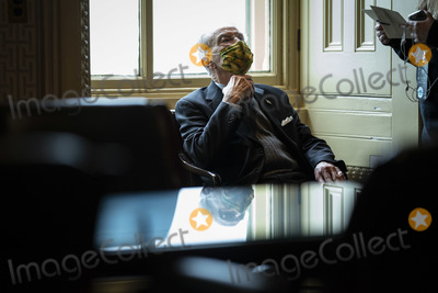 Chuck Grassley Photo - WASHINGTON DC - FEBRUARY 12  Sen Chuck Grassley R-Iowa sits in the Senate Reception room on the fourth day of the Senate Impeachment trials for former President Donald Trump on Capitol Hill on Friday Feb 12 2021 in Washington DC Credit Jabin Botsford  Pool via CNPAdMedia