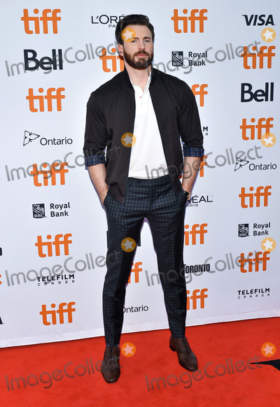 Chris Evans Photo - 07 September 2019 - Toronto Ontario Canada - Chris Evans 2019 Toronto International Film Festival - Knives Out Premiere held at Princess of Wales Theatre Photo Credit Brent PerniacAdMedia