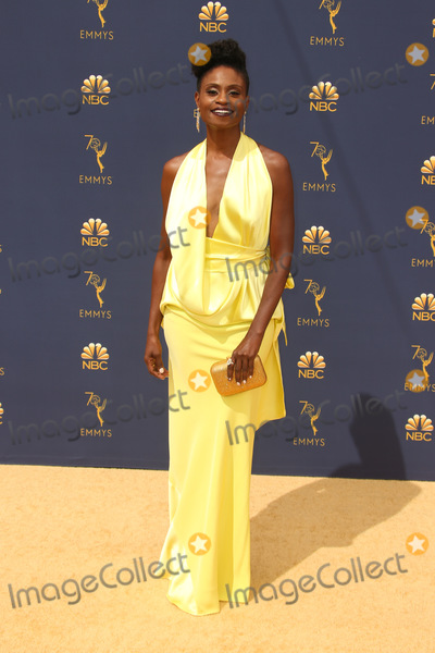 Adina Porter Photo - 17 September 2018 - Los Angles California - Adina Porter 70th Primetime Emmy Awards held at Microsoft Theater LA LIVE Photo Credit Faye SadouAdMedia