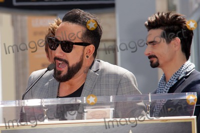 AJ MCLEAN Photo - AJ McLean Kevin Richardsonat the Backstreet Boys Star on the Walk of Fame Hollywood CA 04-22-13