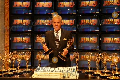 Alex Trebek Photo - Alex Trebekat the ceremony entering Jeopardy in to the Guinness World Records for being the game show with the most Emmy Awards Sony Studios Culver City CA 11-01-05