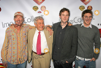 Aaron Ashmore Photo - Marc McClure and Jack Larson with Aaron Ashmore and Sam Huntingtonat the Superman Returns DVD and Video Game Launch Party Social Hollywood Hollywood CA 11-16-06