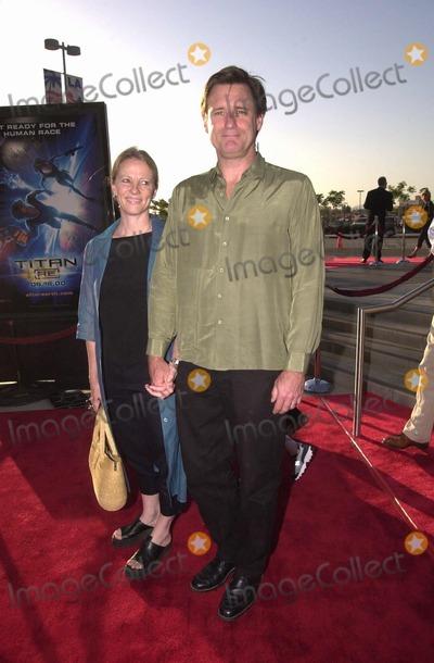 Tamara Hurwitz Photo -  Bill Pullman and Tamara Hurwitz at the premiere of the 20 Century Fox film Titan AE in Los Angeles 06-13-00