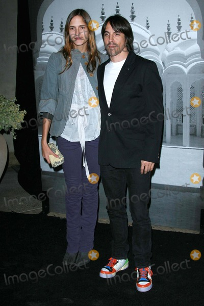 Anthony Kiedis Photo - Anthony Kiedis and guestat the Giorgio Armani Prive Show to celebrate the Oscars Green Acres Los Angeles CA 02-24-07