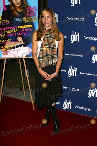 Ashley Bashioum Photo - Ashley Bashioum at the ELLEgirl Holiday Issue Celebration Orange County Museum of Art Newport Beach CA 12-06-03
