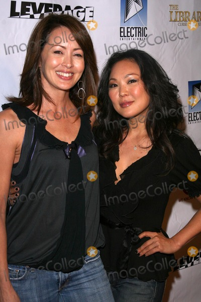 Angela Oh Photo - Rachel Martin and Angela Oh at the TNT Wrap Party for The Librarian and Leverage Cabana Club Hollywood CA 11-19-08