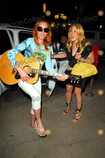 Jenny McShane Photo - Jenny McShane and Jennifer Blanc at a birthday party for actress Kym Jackson Cat  Fiddle Hollywood CA 07-01-09
