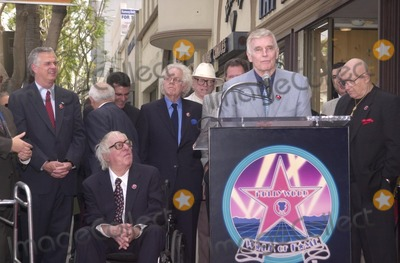 Ray Bradbury Photo - Ray Bradbury honored by Charleton Heston at the Star on the Walk of Fame ceremony 04-01-02