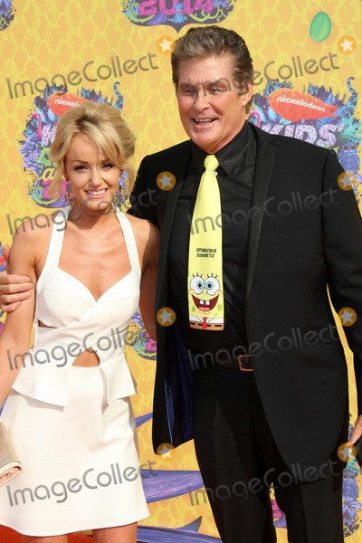 Hayley Roberts Photo - Hayley Roberts David Hasselhoffat Nickelodeons 27th Annual Kids Choice Awards USC Galen Center Los Angeles CA 03-29-14