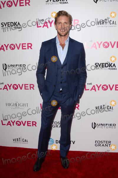 MATT BARR Photo - Matt Barrat The Layover Los Angeles Premiere Arclight Hollywood CA 08-23-17